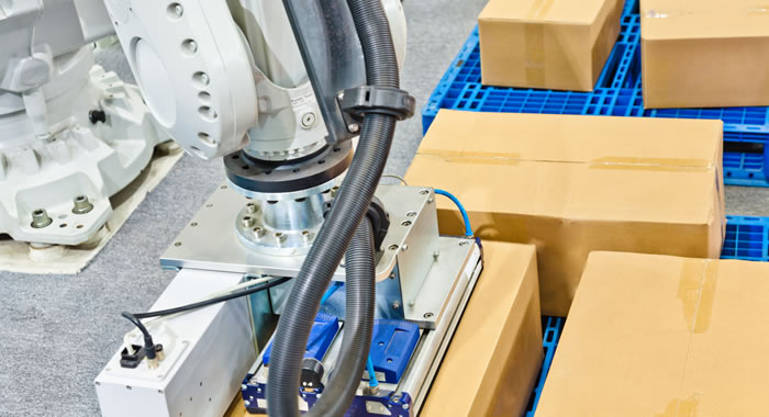 Robot depallettizzatori, macchine, automazioni ed isole di depallettizzazione.