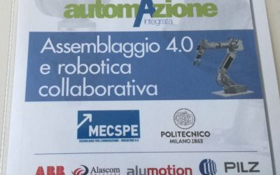 Seminario assemblaggio 4.0 e robotica collaborativa – Milano, 18 Settembre 2018