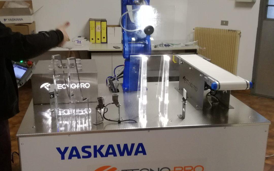 Banco Prova Robot Industria 4.0 – Udine, 20 Dicembre 2018
