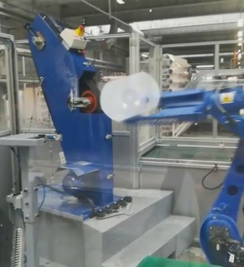 Robot Installation March 2019, Industry 4.0