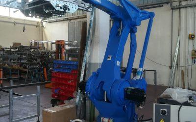 Prossimamente nuova installazione Robot Industria 4.0, Aprile 2019, Lavorazione metalli