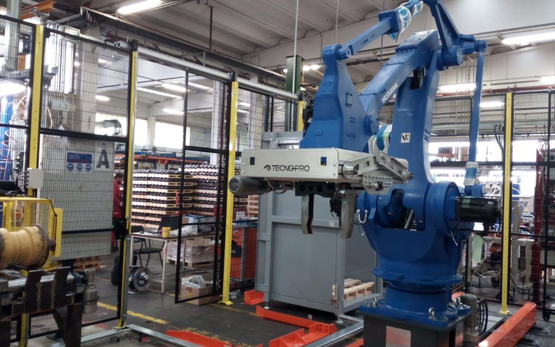 Robotics (Yaskawa) Installation, Industry 4.0, May 2019 Metal Works
