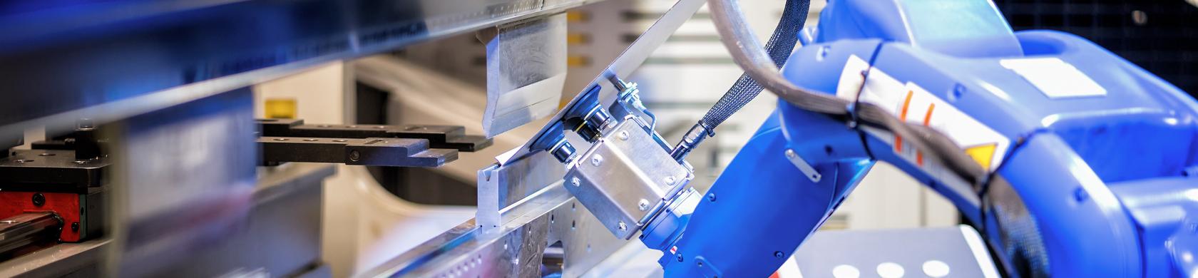 Robot ed automazioni robotizzate per le lavorazioni meccaniche e dei metalli.